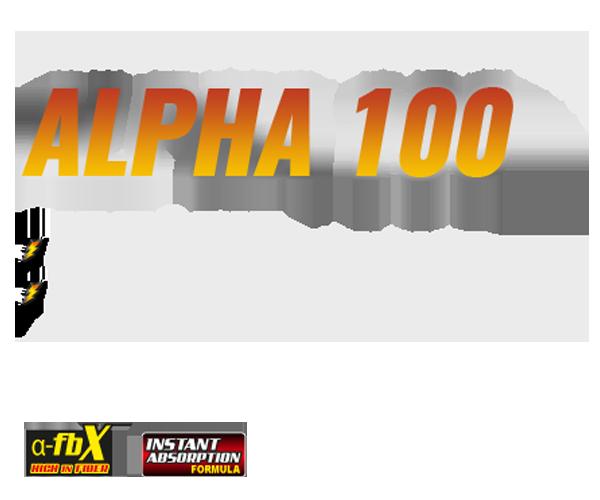 alpha100text